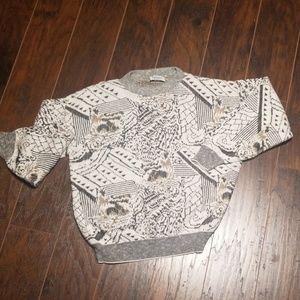 Vintage chunky sweater size medium oversized